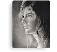 Girl Portrait Canvas Print