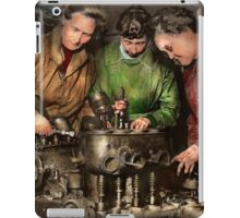 Car Mechanic - In a mothers care 1900 iPad Case/Skin