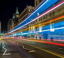 Water Street Bus Lights by Paul Madden