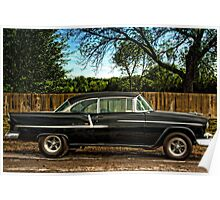 1955 Chevrolet BelAir Poster