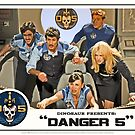 Danger 5 Lobby Card #3 - &quot;In the balance&quot; by dinostore