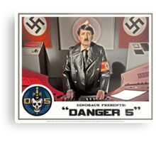 "Danger 5 Lobby Card #5 - ""Ich comme Mutti"" Metal Print"