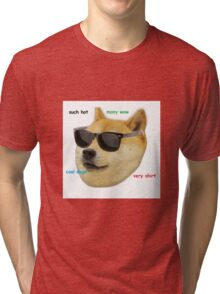 Doge. Much wow, such good. Tri-blend T-Shirt