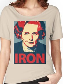 IRON LADY Women's Relaxed Fit T-Shirt