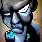 Alien graffiti by VintagePT