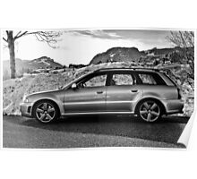 Audi RS4 Avant B5 Poster
