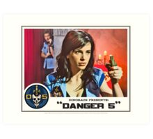 "Danger 5 Lobby Card #10 - ""Seed of the Fatherland"" Art Print"