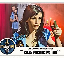 "Danger 5 Lobby Card #10 - ""Seed of the Fatherland"" by Danger Store"