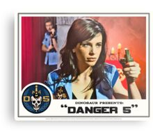 "Danger 5 Lobby Card #10 - ""Seed of the Fatherland"" Metal Print"