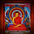 Honoring The Buddha ( please see description) by Kanages Ramesh