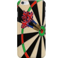 Dart board iPhone Case/Skin