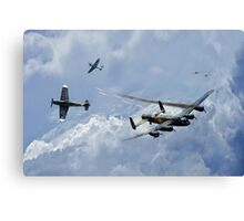Wounded Warrior Canvas Print