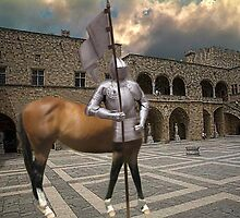☆.¸¸.{KNIGHT- MARE} LOL.. AT COURT YARD GRAND MASTERS PALACE RHODES GREECE☆.¸¸. by ✿✿ Bonita ✿✿ ђєℓℓσ