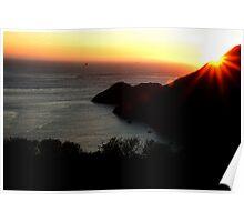 Landscape at California, San Francisco  Poster