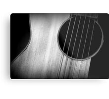 Strummin' in Low Key Metal Print