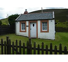 Cottage in Wanlockhead, Scotland Photographic Print