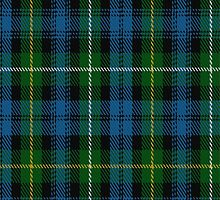 01875 Campbell of Argyll (No Guards) Clan/Family Tartan Fabric Print Iphone Case by Detnecs2013