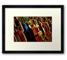 It's A Quarter To Three Framed Print