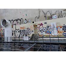 Street Art in Paris. Photographic Print