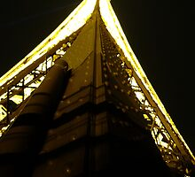 On the Eiffel Tower. by ChloeLouise