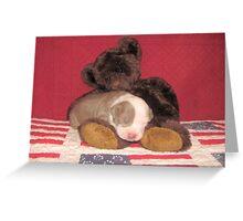 Shhhhhh ~ He's Sleeping ~ Greeting Card