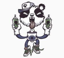 Graffiti Panda. by LewisJamesMuzzy
