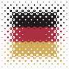 Flag of Germany / Deutschlandflagge by MrFaulbaum