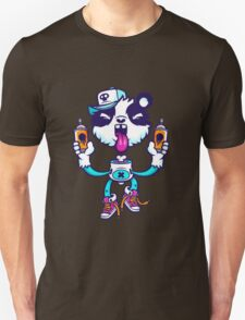 Graffiti Panda BRIGHT. Unisex T-Shirt