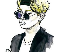 SHINee - Key - Airport Fashion by fabisketches
