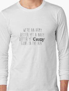 Rihanna Navy - G4L Long Sleeve T-Shirt