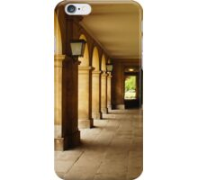 Hall of old building iPhone Case/Skin