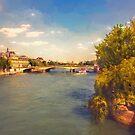 The River Seine by John Rivera