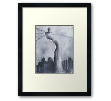 Nocturn 34: Naqoy, the Dreamer Framed Print
