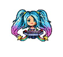 Arcade Sona - Pure Pixel Power Photographic Print