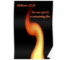 God is a Consuming Fire! Poster