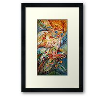 The Angels on Wedding triptych (right) Framed Print