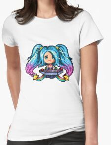 Arcade Sona - Pure Pixel Power Womens Fitted T-Shirt