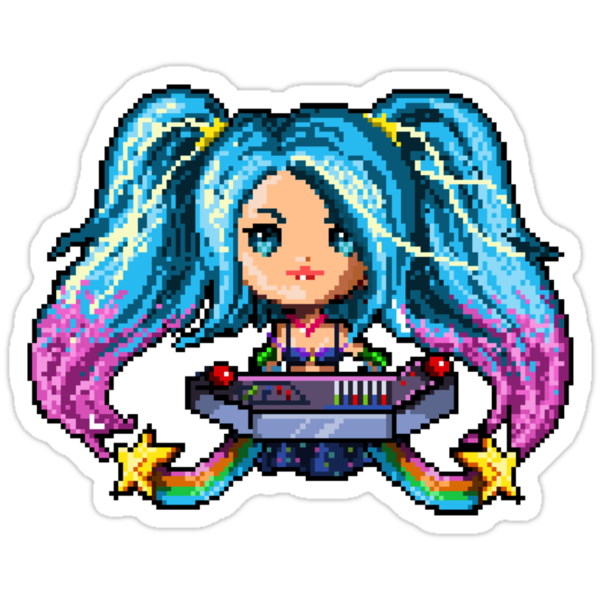 Arcade Sona - Pure Pixel Power by Pixel-League