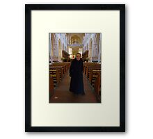 Father Christopher Framed Print