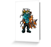 Varus The Pixel Sniper Greeting Card