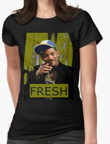 FRESH PRINCE Womens Fitted T-Shirt