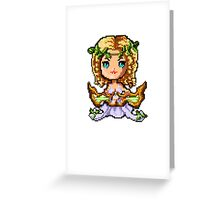 Pixel Sona, Muse Of The Strings Greeting Card