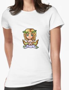 Pixel Sona, Muse Of The Strings Womens Fitted T-Shirt