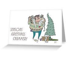 Seasons Greetings Chummer! Greeting Card