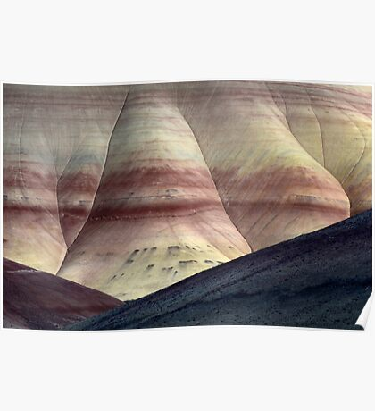 Painted Hills 10 Poster