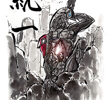 Mass Effect Legion Sumie style by Mycks