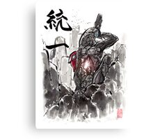 Mass Effect Legion Sumie style Canvas Print