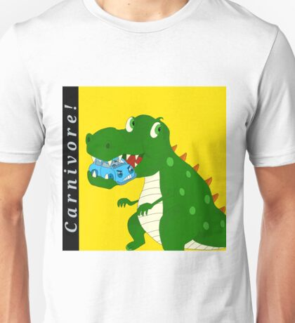 Rawr Rawr I'm a 'Car'nivore! Unisex T-Shirt