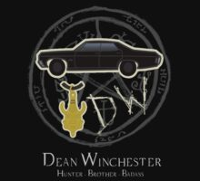 Dean Winchester - Hunter . Brother . Badass by Unicorn-Seller