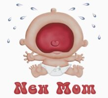 Bawling Baby - New Mom by SpiceTree